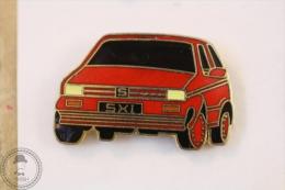 Seat SXI Ibiza, Red Colour - Pin Badge #PLS - Pin