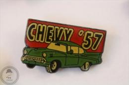 Chevy ´57  Green Colour - Pin Badge #PLS - Pin