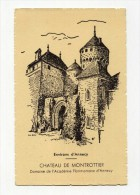 CP , 74 , ANNECY Aux Environs, Château De Montrottier - Annecy