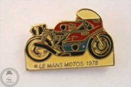 Honda Le Mans Motos 1978 Motorcycle/ Motorbikes Racing - Pin Badge #PLS - Motos