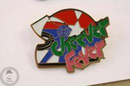 Cheever Fever Helmet - Pin Badge #PLS - Motos