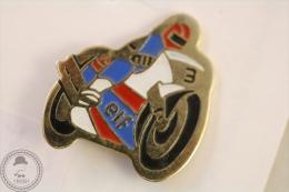 Elf Advertising Motorcycle/ Motorbike Racing - Pin Badge #PLS - Motos