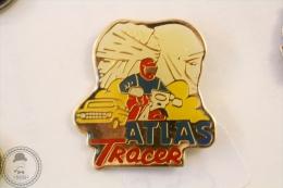 Atlas Tracer Motorcycle/ Motorbike - Pin Badge #PLS - Motos