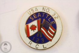 USA NO. 32 Seattle 123 RCL  - Pin Badge #PLS - Motos