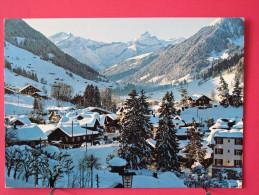 Carte Très Peu Courante - Suisse - Gstaad Mit Oldenhorn- Scans Recto-verso - BE Berne