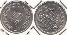 Singapore 10 Cents 1981 KM#3 - Used - Singapore