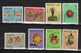 R 485 Bolivia 1971  Flores, Cactus Nuevos Con Goma No Fijasello - Cactus