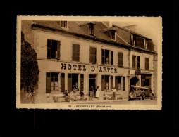 29 - FOUESNANT -  Hôtel D'Arvor - Verso Servant De Facturier - Fouesnant