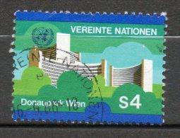 NATIONS UNIES 4s Polychrome 1979-80 N°4 - Oblitérés