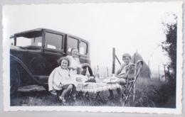 Photo. Han Sur Lesse. Auto & Pique Nique. Août 1937. - Luoghi
