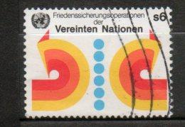 NATIONS UNIES 6s Multicolore 1980 N°11 - Oblitérés