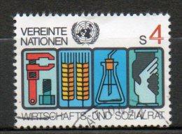 NATIONS UNIES 4s Multicolore 1980 N°14 - Oblitérés