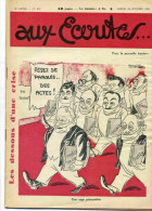 REVUE AUX ECOUTES  -  N°857 DU 20 OCTOBRE 1934  -  ASSEZ DE PAROLES DES ACTES ! - Livres, BD, Revues