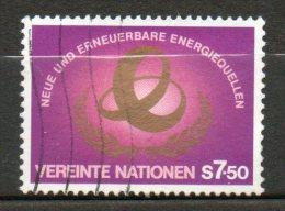 NATIONS UNIES  7,50s Rouge Violacè Or 1980 N°20 - Oblitérés