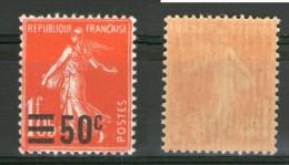 N° 225**_tres Bon Centrage_fin Et Transparent_voir Verso - 1906-38 Semeuse Camée