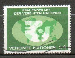 NATIONS UNIES  4s  Multicolore 1980 N°9- - Oblitérés