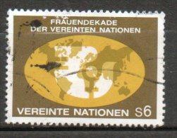 NATIONS UNIES  6s  Multicolore 1980 N°10 - Oblitérés