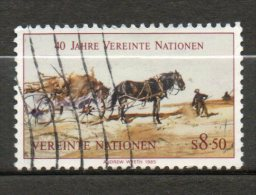 NATIONS UNIES  8,50s  Multicolore 1985 N°52 - Oblitérés