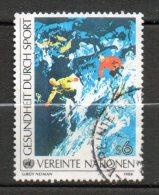 NATIONS UNIES  5s  Multicolore 1988 N°65 - Oblitérés