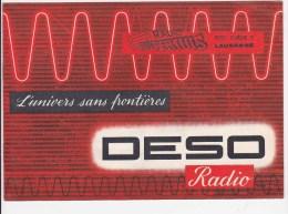 Radio Deso - Prospectus - Publicité