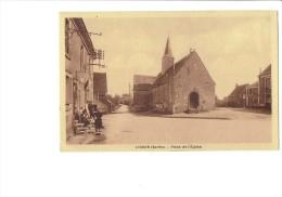 72 - LIGRON - PLACE DE L EGLISE - Poste Rurale Correspondant Tabac - Animation - 1947 - Autres Communes