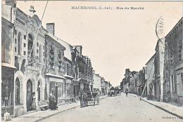 23847 MACHECOUL RUE DU MARCHE CAFE DES VOYAGEURS DOCK DE L OUEST -Vasselier David - Machecoul