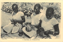 Afrique- (Tanzanie Tanganyika ) Vannières Du TANGANYIKA (Editions : Propagation De La Foi N° 4)(Vannerie)*PRIX FIXE - Tanzania