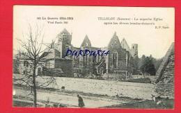 Somme - TILLOLOY - La Superbe Église ..... - Autres Communes