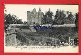 Somme - TILLOLOY - L'Église Et Les Fossés Du Château ..... - Autres Communes
