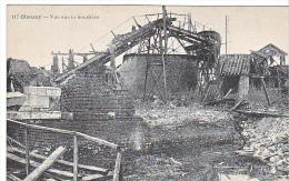 23852 CHAUNY Vue Sur La Soudiere - 117 Baticle -guerre Ruine Bombardements - Chauny