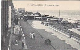 23855 Luc Sur Mer -vue Sur La Plage -13 Delaunay
