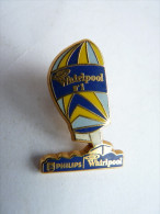 Pin's  PHILIPS WHIRLPOOL N°1 - VOILIER - ARTHUS BERTRAND - Boats