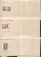 FRANCE EXPOSITION INTERNATIONALE DE PARIS EN 1937  24 BLOCS NEUF ** LUXE Série Complète - 1937 Exposition Internationale De Paris