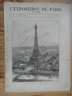 L´exposition De Paris / N° 11  Du  11 Mai 1889  Avec Supplément - Bücher, Zeitschriften, Comics