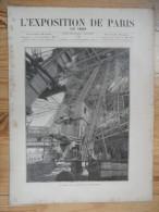L´exposition De Paris / N° 15  Du  8 Juin 1889  Avec Supplément - Livres, BD, Revues