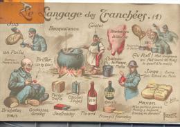 Le Langage Des Tranchées (1) , Bon état ( Voir Scan ) - Humoristiques