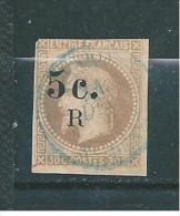 Timbre De Réunion De 1885/86   N°5 Oblitéré - La Isla De La Reunion (1852-1975)
