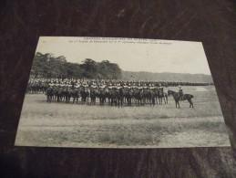 A143..CPA..thème..MILITAR IA..Grande Manoeuvre Du Centre (1908).1 Er Brigade Cuirassiers.rare Beau Plan Animé.non Ecrite - Guerre 1914-18