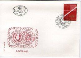 Yugoslavia, 1981, World Intellectual Property Organization, FDC - FDC