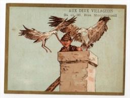 Chromo Imp. Testu & Massin, Cigogne - Trade Cards