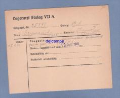 Document Ancien - STALAG VII A - Militaire Polonais Szymanski Prisonnier Au Camp De Moosburg - WW2 - Polska 's POW 1940 - 1939-45