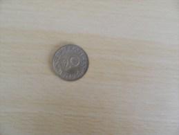 20  Franken 1954 - Sarre