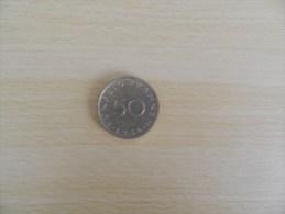 50  Franken 1954 - Saar
