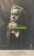 CPA ARMAND FALLIERES PRESIDENT DE LA REPUBLIQUE ELU PAR L'ASSEMBLEE NATIONALLE A VERSAILLES LE 17 JANVIER 1906 - Hommes Politiques & Militaires