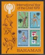 Bahamas MNH Scott #449a Souvenir Sheet Of 4 International Year Of The Child - Bahamas (1973-...)