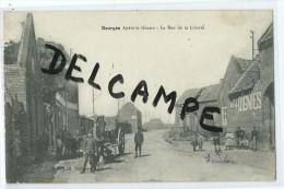 CPA - Dourges - Après La Guerre - La Rue De La Liberté - France