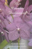 ## Met Oprechte Deelneming/(Sincères Condoléances) ##: OVERLIJDEN,DÉCÈS,FLEURS,FLOWERS, - Begrafenis
