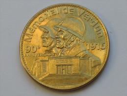 Médaille ARTHUS BERTRAND - Mémorial De Verdun 1916  **** EN ACHAT IMMEDIAT **** - Arthus Bertrand