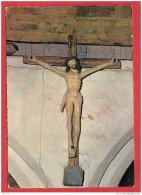 D412 29 PONT AVEN CHAPELLE DE TREMALO LE CHRIST JAUNE 1966 TIMBRE CACHET - Christianisme