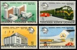 KENIA UGANDA TANZANIA  UPU - U.P.U.